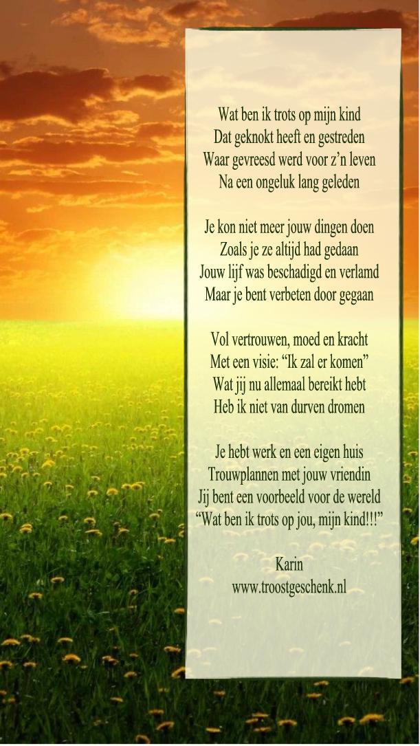 Uitzonderlijk Favoriete Gedicht Voor Mijn Zoon Trots SR17 | Belbin.Info &XS55